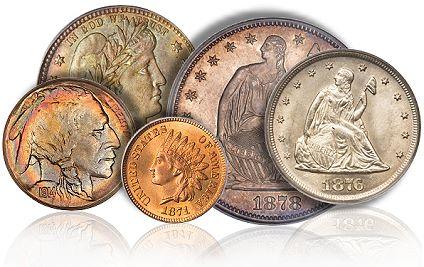 Монеты и аксессуары флюрин для серебра